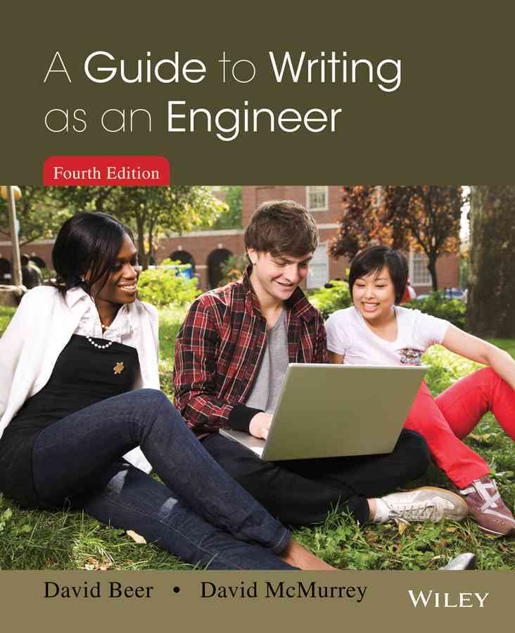 A Guide to Writing As an Engineer By Beer, David F./ McMurrey, David A.